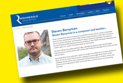 Author for Rhinegold Education